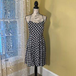 OLD NAVY pattern dress spaghetti straps MEDIUM NEW